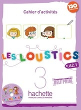Les Loustics 3 Exercise Book - Click to enlarge picture.